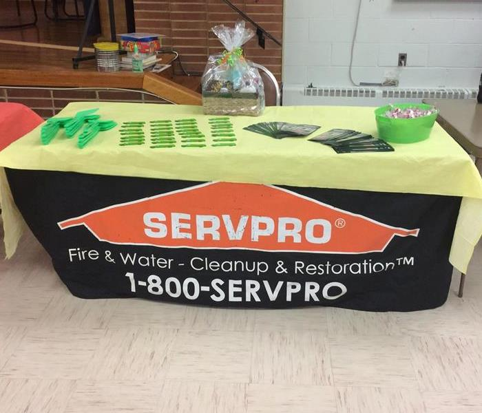 Commercial SERVPRO Attends a Health Fair
