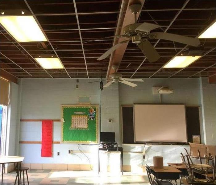 Water Damage Water in the Classroom!